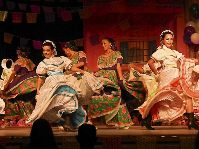 "Izel Ballet Folklorico performs in this undated photo. The group is scheduled to perform ""El Color de Mexico"" Oct. 19 at the Winchester Cultural Center Theater, 3130 McLeod Drive. (Special to  ..."