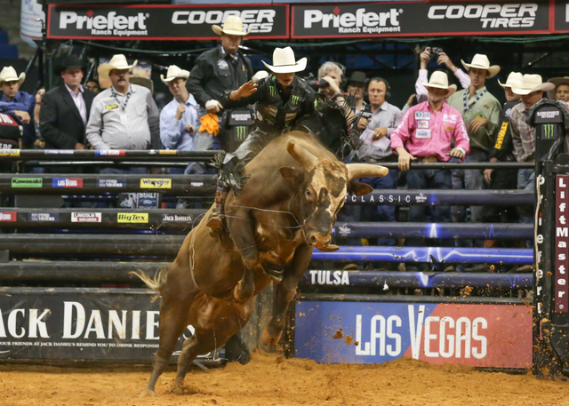 J.B. Mauney of Mooresville, N.C., eyes his first Professional Bull Riders world title after placing second twice and third twice. (Courtesy Photo)