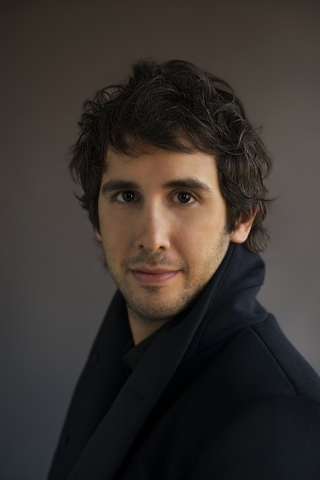 Josh Groban sings and interacts with fans Sunday at the MGM.