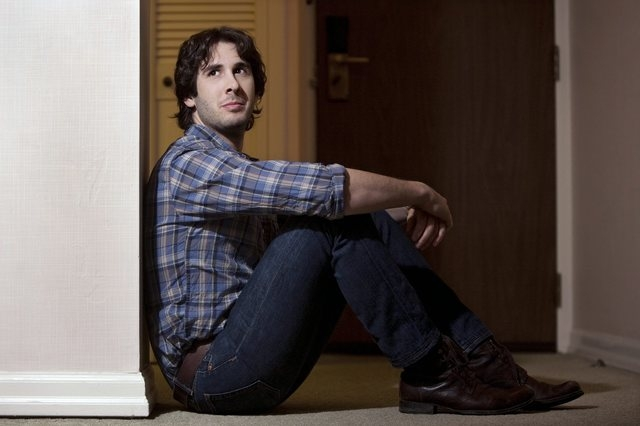 Josh Groban poses in Toronto, on Monday, Jan. 10, 2011. When Groban heard that Rufus Wainwright and his mother, Kate McGarrigle, were penning a song together for Groban's new CD, he didn't realize ...