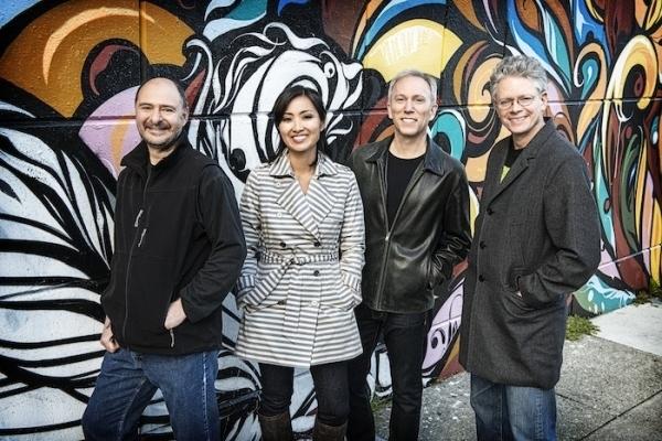 COURTESY Kronos Quartet From left, John Sherba, Sunny Yang, Hank Dutt and David Harrington.