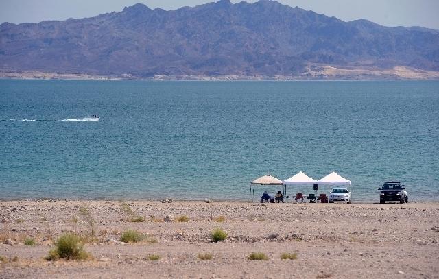 Lake Mead National Recreation Area (Steve Andrascik/Las Vegas Rreview Journal)