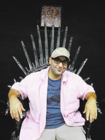 "Lee Roy Myers is filming a ""Game of Thrones"" porn parody in Vegas' newest adult film studio. (Doug Elfman/Las Vegas Review-Journal)."