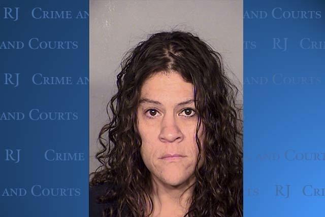 Lisa Renee Davis, 43, told police she stabbed Sheldon Wesley in the home in self-defense. (Courtesy/LVMPD)
