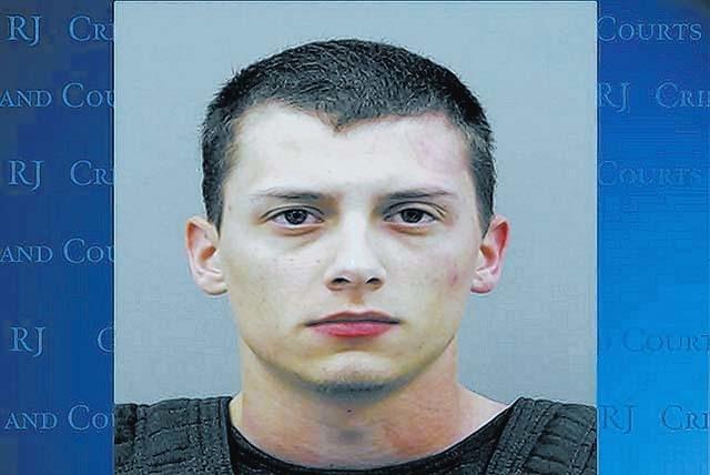 Colin Lowrey mugshot. (Courtesy Henderson Police)