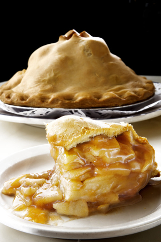 Displayed is apple pie as made at Du-Parճ restaurant which is located in the Golden Gate hotel-casino on Thursday, Sept. 26, 2013. (Jeferson Applegate/Las Vegas Review-Journal)