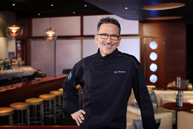 Rick Moonen is one of the celebrity chefs taking part of the demonstrations at Chefs on Stage during the Life Is Beautiful festival.