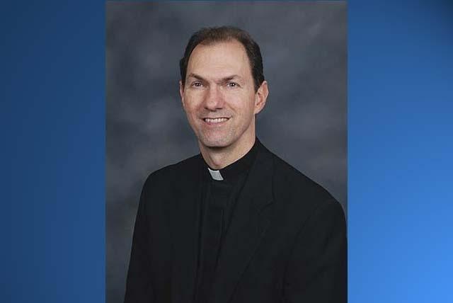 John Thomas Folda, bishop of the Fargo Catholic Diocese. (AP Photo/Catholic Diocese of Fargo, File)