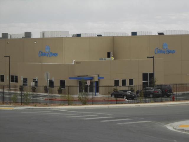 Chelten House Products, at 2970 Coleman St. in North Las Vegas, April 16, 2013, moved to North Las Vegas in the past year. (James DeHaven/Las Vegas Review-Journal)