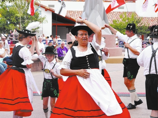 The Oktoberfest celebration will run from 2 to 9 p.m. Saturday at Centennial Plaza. (Courtesy Photo)