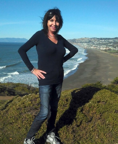 An undated photo provided by David Perry & Associates, shows Lynne Spalding. Officials confirmed Tuesday Oct.  9, 2013, the identity of the body discovered in a rarely used stairwell at San Franci ...