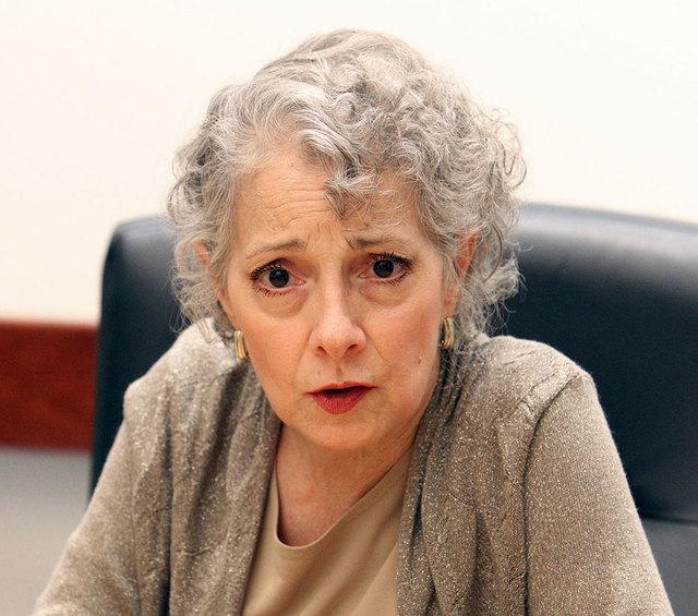 Assemblywoman Peggy Pierce, D-Las Vegas, died Thursday of cancer. She was 59. (Jerry Henkel/Las Vegas Review-Journal)