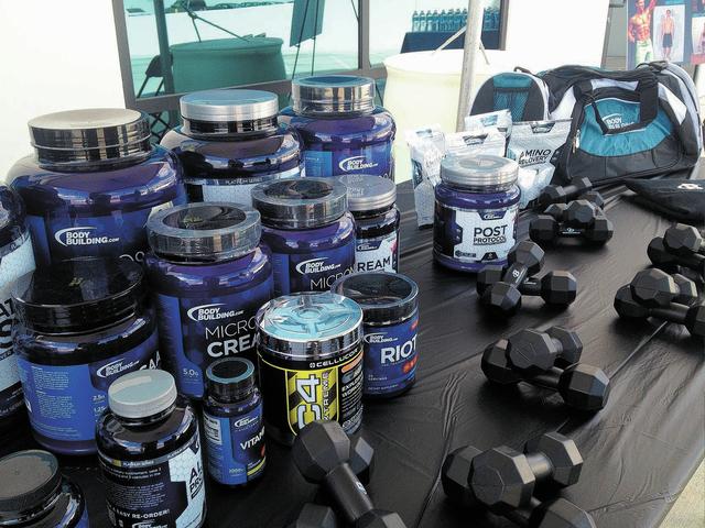 Bodybuilding.com's new space in North Las Vegas, shown Sept. 26, 2013. (JAMES DEHAVEN/VIEW)