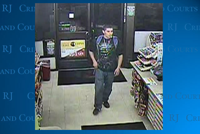 Las Vegas police are looking for a man who robbed a convenience store and fired a gun near Sunrise Manor in September.