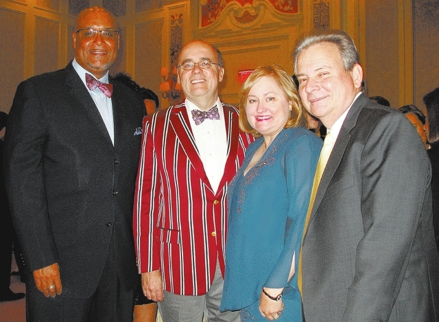 Karlos  LaSaine, from left, Michael Brown, Judy Reich and Gary Milby. (Courtesy)