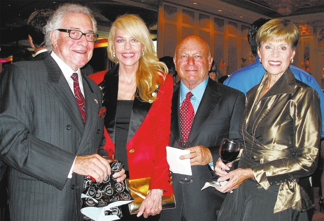 Jerry Snyder, from left, Sallie Gordon, and Tony and Renee Marlon. (Courtesy)