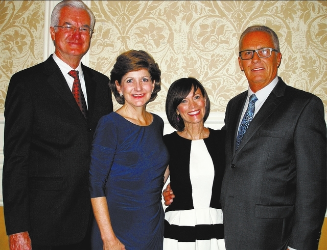 John and Laurie Hartig, from left, and Pam and Dan Lang. (Courtesy)