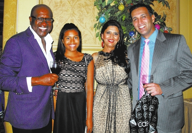 Fabian Vincent, from left, Kennedy Vincent, Jyoti and Gagan Verma. (Courtesy)