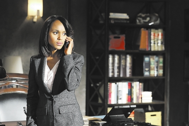 """SCANDAL - """"Guess Who's Coming to Dinner"""" - Through flashbacks we learn more about Olivia's estranged relationship with her father. Meanwhile, both the White House and  Pope & Associates  ..."""