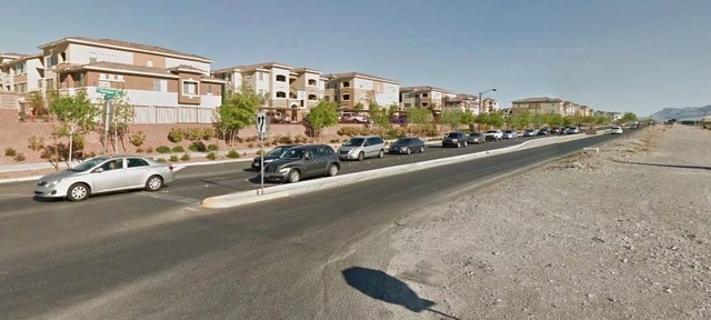 Intersection of Hualapai Way and Deer Springs Road. (Courtesy Google street view/Google maps)