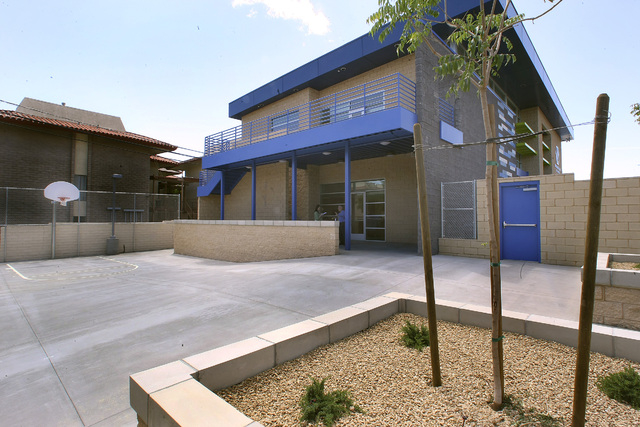 Tthe Engelstad clubhouse is part of the Boys & Girls Clubs of Las Vegas, one of the charities that has received funding from the Engelstad Family Foundation. (Las Vegas Review-Journal file)
