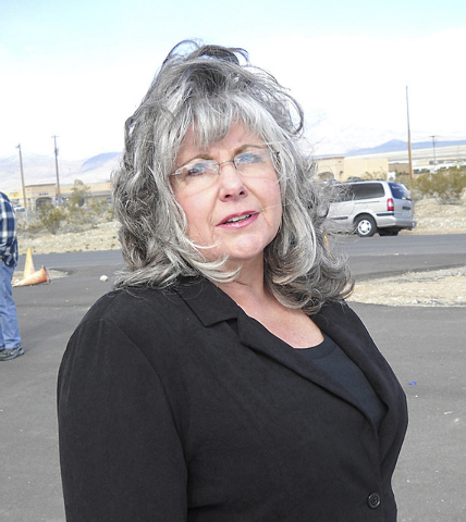 Nye County tax assessor Shirley Matson is shown in this courtesy photo. (COURTESY PHOTO)