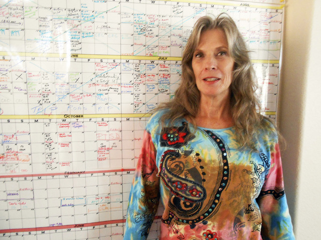 Summerlin resident Bonnie Serratore, a master shaman for 28 years, travels across the country working with veterans who are dealing with post-traumatic stress disorder. (Jan Hogan/View)