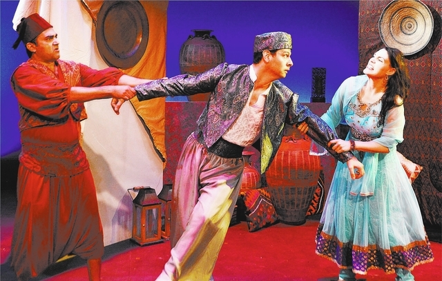 """courtesy  """"The Comedy of Errors"""" is directed by Steve Shade for the Las Vegas Shakespeare Company and presented by the City of Henderson's annual Shakespeare in the Park."""