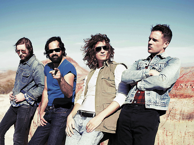 The Killers, a homegrown band, are headlining the Life Is Beautiful festival. They are scheduled to be on the Downtown Stage from 9:40 to 11:10 p.m. Sunday. (Courtesy)