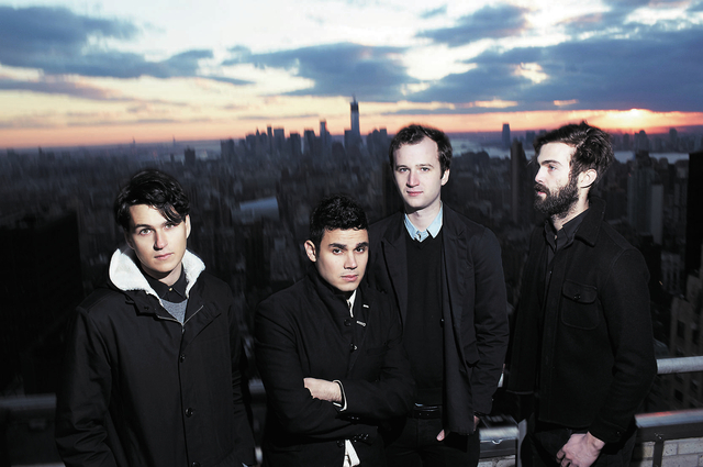 Vampire Weekend will appear on the Downtown Stage on Sunday. (Courtesy)