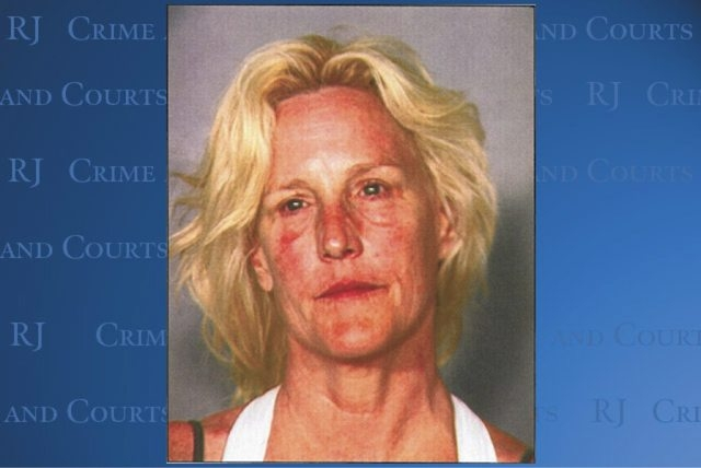 This Clark County Dentention Center booking photo shows environmental activist Erin Brockovich-Ellis, 52, who was arrested late Friday June 7, 2013 on suspicion of boating while intoxicated at Lak ...