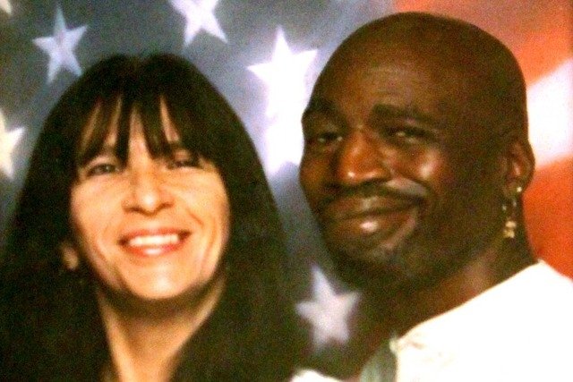 Rondha and Stanley Gibson are seen in this undated photo. Stanley Gibson, an unarmed, disabled veteran, was killed Dec. 12, 2011, during a standoff with Las Vegas police.