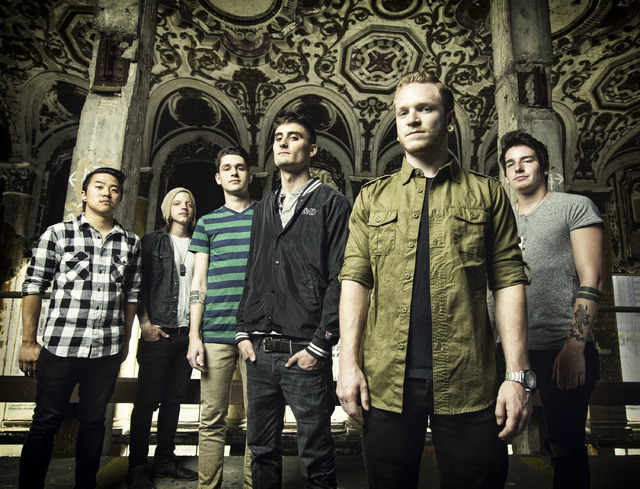 """We Came As Romans released their most radio-friendly album to date with """"Tracing Back Roots."""" (DOUGLAS SONDERS/COURTESY)"""