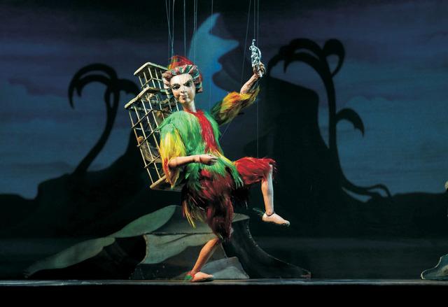 """Salzburg Marionette Theatre's """"Magic Flute"""""""