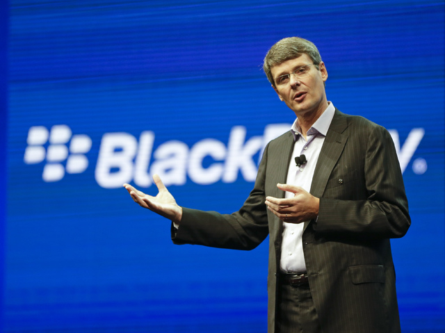 BlackBerry abandoned its sale process on Monday and announced it will replace its president and CEO, Thorsten Heins. Fairfax, BlackBerry's largest shareholder with a 10 percent stake, said it won' ...