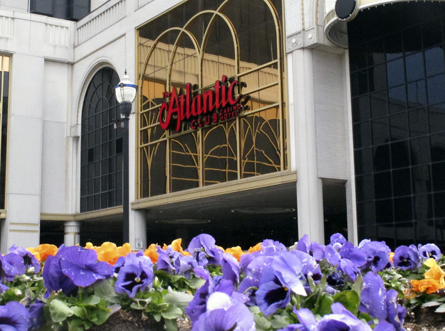 The Atlantic Club Casino Hotel in Atlantic City, N.J., filed for Chapter 11 bankruptcy protection Wednesday and says it will remain open as a buyer is sought.  (AP Photo/Wayne Parry)