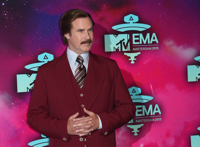 """Ron Burgundy: """"I'm kind of a big deal"""" (Photo by Joel Ryan/Invision/AP)"""
