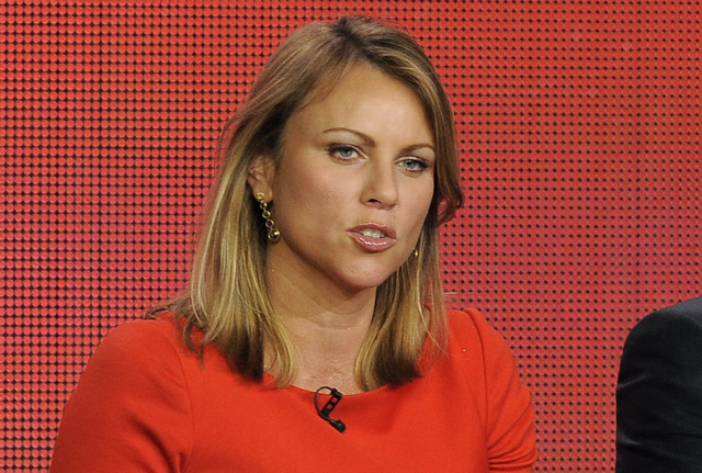 "In this Jan. 12, 2013 file photo, ""60 Minutes"" reporter Lara Logan takes part in a panel discussion at the Showtime Winter TCA Tour in Pasadena, Calif. CBS has ordered 60 Minutes correspondent Lar ..."