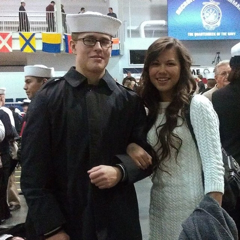 Madison Meinhardt and her soon-to-be husband Dylan Ruffer. (Courtesy Facebook/Madison Meinhardt)