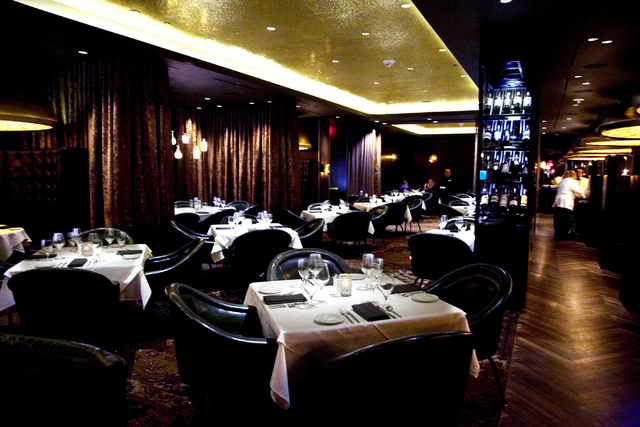 Andiamo at the D Las Vegas has an elegant atmosphere also represented in the food. (Jeferson Applegate/Las Vegas Review-Journal)