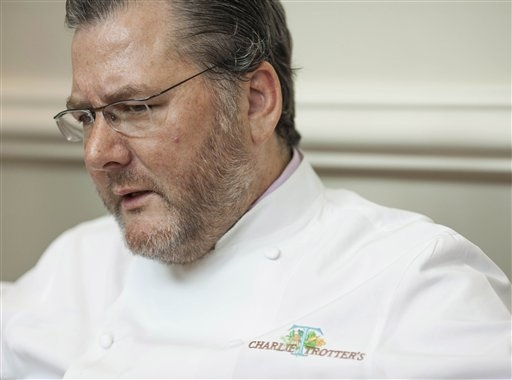 Award-winning chef Charlie Trotter died Tuesday at his home in Chicago. Trotter had two short-lived restaurants in Las Vegas.  (AP Photo/Sitthixay Ditthavong)