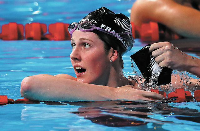 Missy Franklin won the gold medal in the women's 200-meter backstroke at the 2013 FINA Swimming World Championships in Barcelona, Spain. Franklin, a freshman at California, will compete at the UNL ...