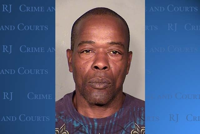 Alfred Blackwell faces two gross misdemeanor counts of intimidating a public officer for sending threatening letters in October. (Courtesy LVMPD)