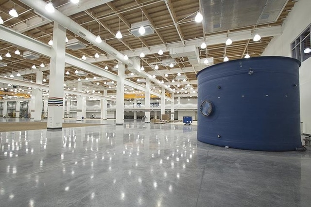 An interior portion of the $43 million expansion of the United Brotherhood of Carpenters and Joiners of America International Training Center is seen. (Courtesy photo)