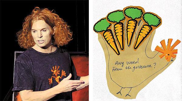 Comedian Carrot Top