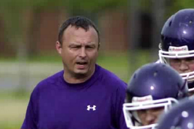 Tennessee assistant football coach, Michael Schmitt, was arrested Wednesday, accused of painting his team's field house with vulgarities and making it seem like the work of a rival high school,  ...