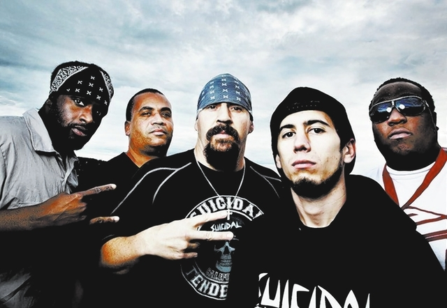 "Suicidal Tendencies is promoting ""13,"" its latest album of conscientious punk-metal. (Courtesy)"