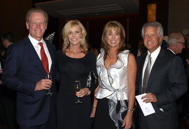 Jim and Joan Hammer, from left, Janelle Collard and Bill Wells. (Courtesy)