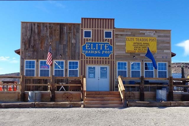 The Elite Trading Post in Goldfield. (Courtesy Facebook)
