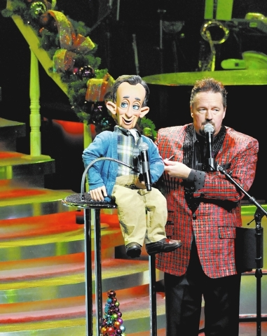 "Ventriloquist Terry Fator will stage ""A Country Christmas"" Dec. 2 through New Year's Eve.  (Bill Hughes/Las Vegas Review-Journal file)"